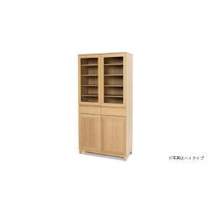 竹集成材のカップボード ハイタイプ W900xD400xH1800mm TEORI|maaoyama