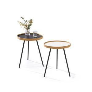 竹集成材のサイドテーブル ONE SIDE TABLE ローサイズ TEORI|maaoyama