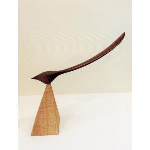 バード靴べら Shoehorn 鳥型 木製 maaoyama