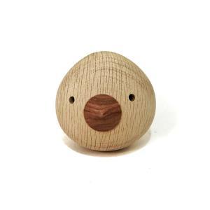 ぴよぴよ 鈴入り 7.5cm 赤ちゃんの木製のおもちゃ|maaoyama