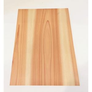 樹のシールシート A4サイズ 杉間伐材|maaoyama
