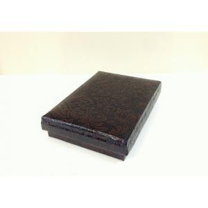 うるし紙箱 葉書入れサイズ茶色|maaoyama