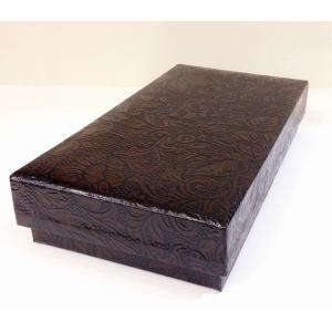 うるし紙箱 筆入れサイズ茶色|maaoyama