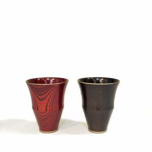 拭き漆 馬上杯 凛|maaoyama