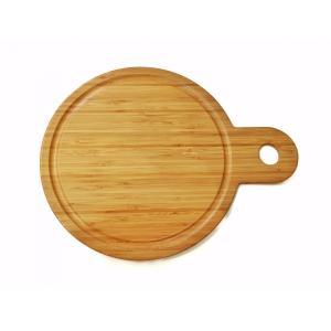 竹製の円形のサービングトレー|maaoyama