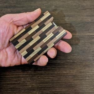 箱根寄木細工の名刺入れ|maaoyama