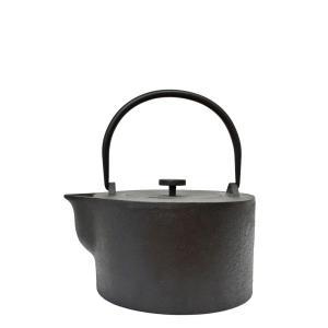 iron kettle KN-0401HK Harri Koskinen 南部鉄器の鉄瓶|maaoyama
