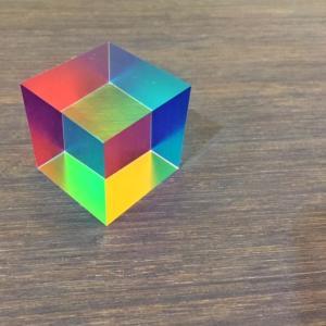 CMY cube 色の三原色キューブ|maaoyama