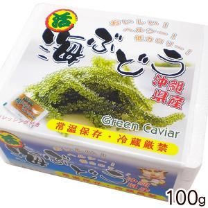 沖縄産 海ぶどう(生)100g <常温発送>|maasanichi