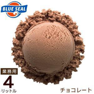 ブルーシールアイス チョコレート 業務用 4リットル (送料無料)|maasanichi