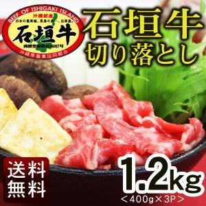 石垣牛 切り落とし 400g×3パック (送料無料)|maasanichi