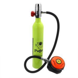 ダイビング機器ミニスキューバダイビング酸素ボンベシュノーケルタンク PCP スキューバダイビングバル...