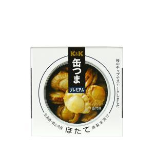 缶つま プレミアム 北海道ほたて 燻製油漬け maborosiya