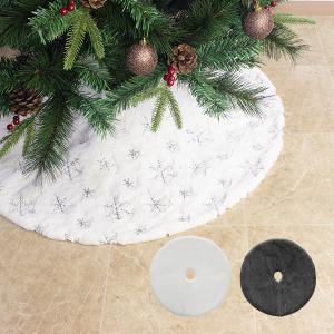 クリスマスツリー足元カバー 直径90cm 欧米 おしゃれ 足元かくし ツリースカート ツリー飾り