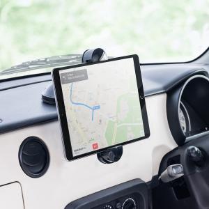 iPad タブレット車載ホルダー iPhone スマートフォン iPad タブレット対応 ダッシュボ...
