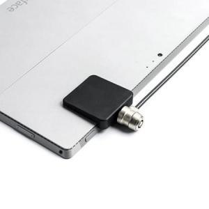 iPad 盗難防止 セキュリティ セキュリティスロット増設 3M社製両面テープ ブラック