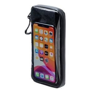 防滴スマートポーチ 自転車用サイクルポーチ ライドポーチ iPhone スマートフォン 収納したまま...