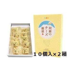 古今堂 阿蘇のチーズ饅頭10個入×2箱|macanonshopping