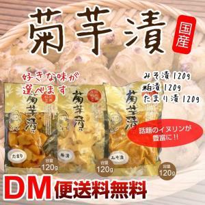 DM便送料無料 菊芋漬物 シリーズ 菊芋 キクイモ きくいも たけしの家庭の医学