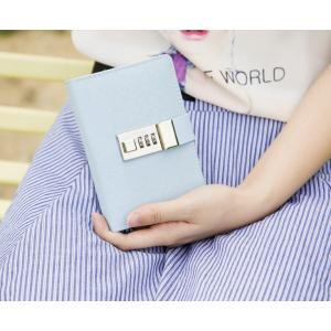 鍵付き 日記 手帳 秘密 ノート ミニ B7 最小サイズ ダイヤル ナンバー ロック|macaroni|10