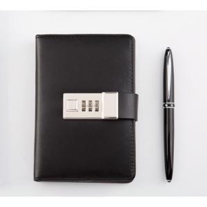 鍵付き 日記 手帳 秘密 ノート ミニ B7 最小サイズ ダイヤル ナンバー ロック|macaroni|09