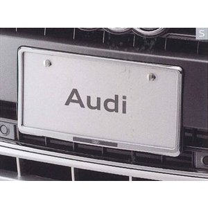 AUDI / アウディ 純正アクセサリー ライセンスプレートホルダー(クローム) J0AEB7L01 送料サイズ60|macars-onlineshop
