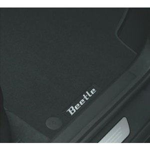 Volkswagen / フォルクスワーゲン / VW 純正アクセサリー The Beetle フロアマット(BEETLE) 送料サイズ60|macars-onlineshop