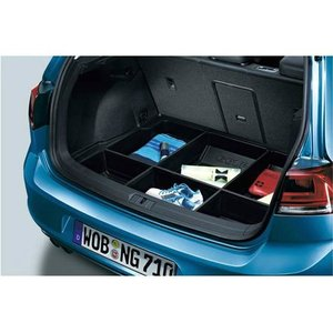 Volkswagen / フォルクスワーゲン / VW 純正アクセサリー ラゲージトレー(ボックスタイプ) GOLF7/ゴルフ7 送料サイズ240|macars-onlineshop