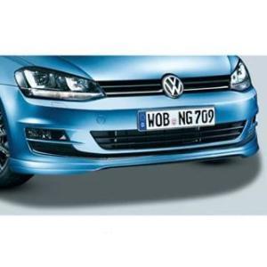 Volkswagen / フォルクスワーゲン / VW 純正アクセサリー フロントスカート GOLF7/ゴルフ7 送料サイズ160|macars-onlineshop