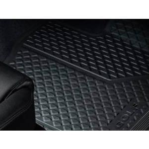 Volkswagen / フォルクスワーゲン / VW 純正アクセサリー ラバーマット(フロント) GOLF7/ゴルフ7 送料サイズ60|macars-onlineshop