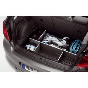 Volkswagen / フォルクスワーゲン / VW 純正アクセサリー POLO/ポロ(6R) ラゲージトレー(ボックスタイプ) 送料サイズ240|macars-onlineshop