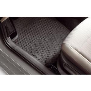 Volkswagen / フォルクスワーゲン / VW 純正アクセサリー POLO/ポロ(6R) ラバーマット リア用 送料サイズ60|macars-onlineshop