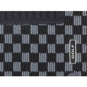 Volkswagen / フォルクスワーゲン / VW 純正アクセサリー フロアマット(チェック) GOLF7/ゴルフ7|macars-onlineshop
