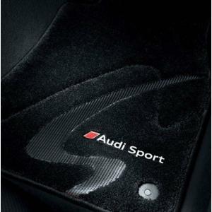 AUDI / アウディ 純正 アクセサリー フロアマット プレミアムスポーツ(ブラック) Sモデル専用フロアマット TTS(8S) 右ハンドル車用 送料60サイズ macars-onlineshop