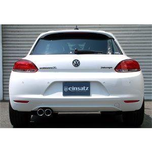 einsatz(アインザッツ) s622マフラー Volkswagen SCIROCCO TSI/Rライン テール:Type1(真円カールタイプ) 送料160サイズ|macars-onlineshop