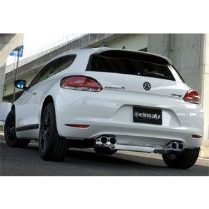 einsatz(アインザッツ) s622マフラー Volkswagen SCIROCCO TSI(4本出し) テール:Type1(真円カールタイプ) 送料160サイズ|macars-onlineshop