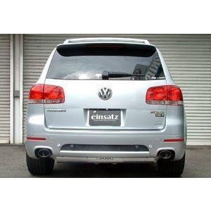 einsatz(アインザッツ) s622マフラー Volkswagen TOUAREG V6シュトルツ テール:Type3(オーバルタイプ) 送料160サイズ|macars-onlineshop
