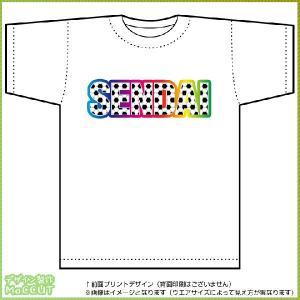 仙台サッカーTシャツ ドライTシャツ(白)