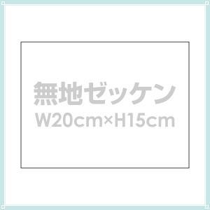 ゼッケン 体操服用無地ゼッケン布 W20cm×H15cm