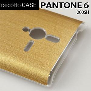PANTONE 6 200SH クリア ハードケース 【アッシュゴールド 柄】|machhurrier
