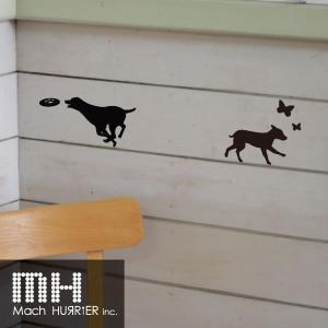 ウォールステッカー 【 スイッチステッカー / 犬01 柄】|machhurrier