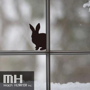 ウォールステッカー 【 スイッチステッカー / ウサギ02 柄】|machhurrier