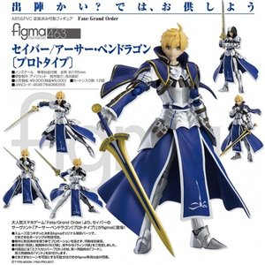 Fate/Grand Order  figma セイバー/アーサー・ペンドラゴン〔プロトタイプ〕(予約)[マックスファクトリー]|machichara