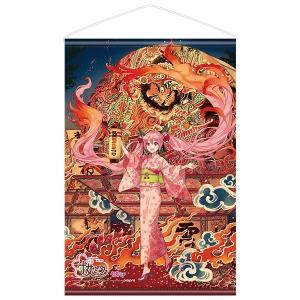 「弘前ねぷたまつり」×「桜ミク」  タペストリー ill.by iXima(予約)[キャラアニ]|machichara