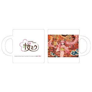 「弘前ねぷたまつり」×「桜ミク」  マグカップ ill.by iXima(予約)[キャラアニ] machichara