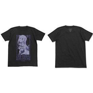 Re:ゼロから始める異世界生活  エミリアTシャツ BLACK XL(予約)[コスパ]|machichara