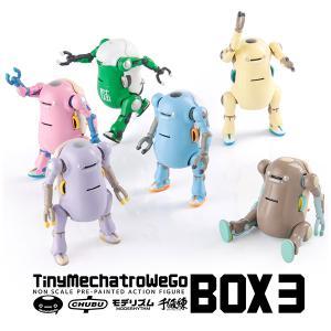 タイニーメカトロウィーゴ BOX3 BOX(予約)[千値練]の画像