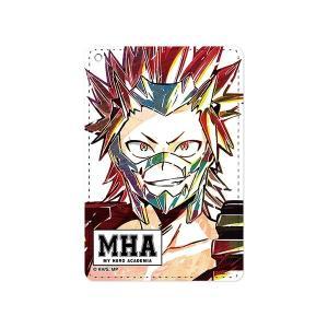 【僕のヒーローアカデミア】  切島鋭児郎 Ani-Art 1ポケットパスケース(予約)[ARMA BIANCA]|machichara