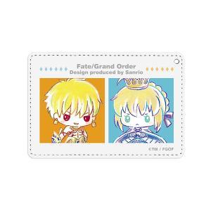 Fate/Grand Order Design produced by Sanrio  アルトリア・ペンドラゴン&ギルガメッシュ(アーチャー) Ani-Art 1ポケットパスケース(予約)[ARMA BIANCA]|machichara