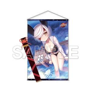 『天華百剣』  あざ丸と水着デート▽刀袋風収納袋つきWスエードタペストリー(予約)[KADOKAWA]|machichara